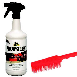 5244 - Absorbine - ShowSheen Sprayer with Free Detangler Brush