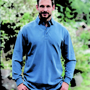 Countryman's Cotton Rugby Shirt (Model) (p28)
