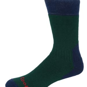 H009 Adventure Coolmax Sock (GreenNavy) (p33)