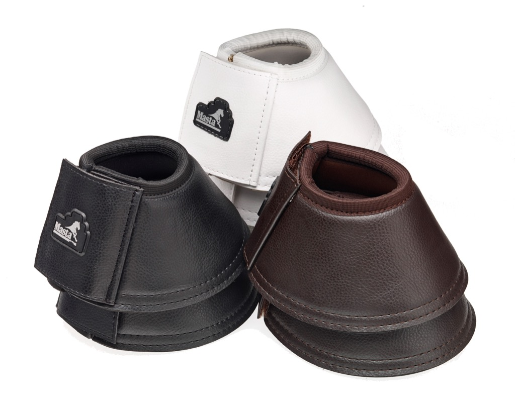 Masta Rubber Over Reach Boots White Small or X Large