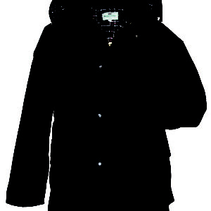 Padded Waxed Jacket (Navy) (p35)
