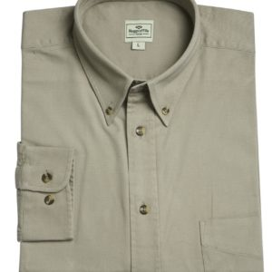 Pure Cotton Twill Shirt (Sand) (p28)