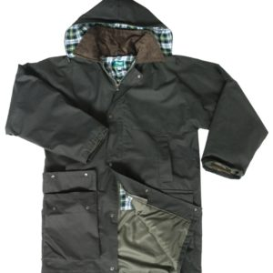 Woodsman Waxed Jacket (p50)