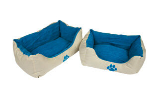 2745-Companion-Reversable-Dog-Bed-with-Paw-Print