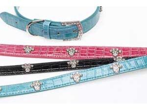 3402-Companion-Diamante-Print-Dog-Collar