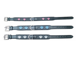 4720-Companion-Leather-Dog-Collar-with-Paw-Prints